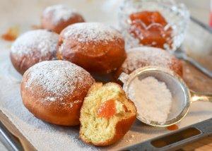 Donuts confettura Delizie del Gusto