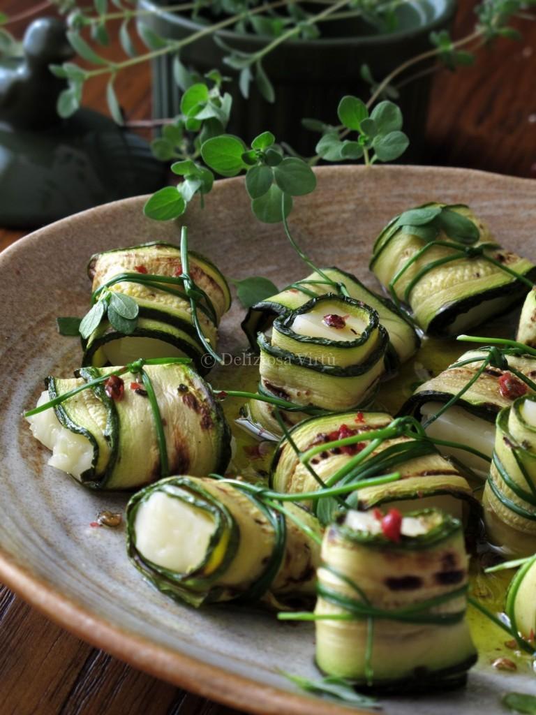 Fagottini di zucchine e asiago  Deliziosa Virt
