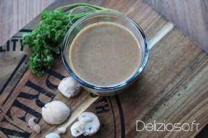 Sauce légère aux champignons