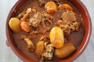 Mijoté de veau au Curcuma – Mijoteuse