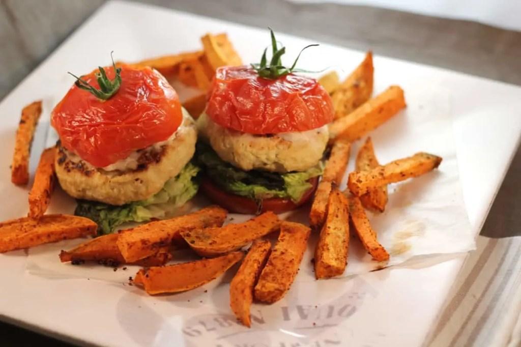 Tomate Burger au poulet - Régime