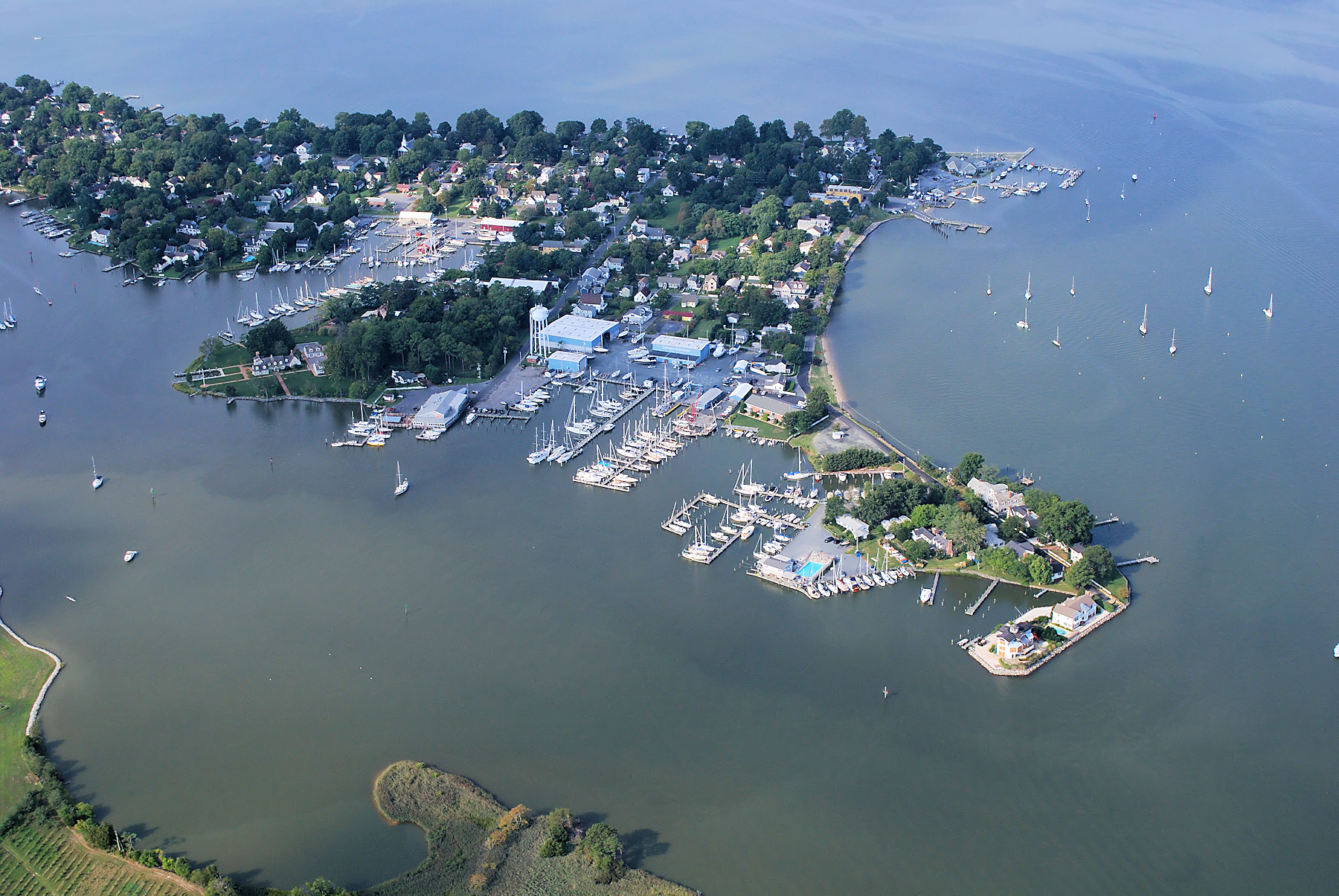 Aerial Photos Of The Chesapeake Bay Area