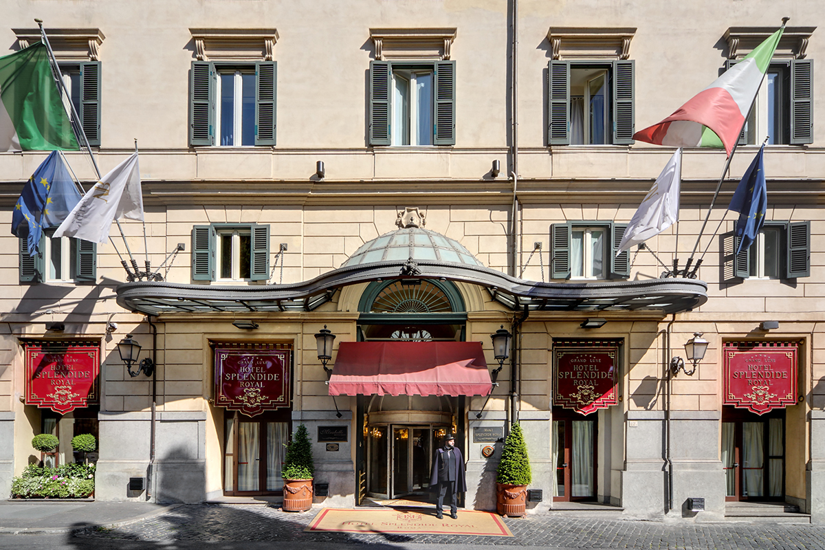 Nicolino Grigio Hotel Splendide Royal