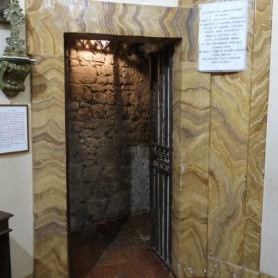 Ingresso della prigione di Celestino V