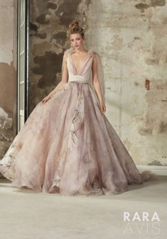 Elba wedding dress from the Floral Paradise Collection