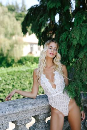 Lace bodysuit Milas for valentines day