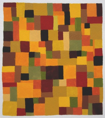 Camouflage Orange grid