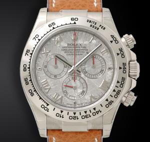 Rolex Daytona 116519 Oro Bianco Quadrante Meteorite Della