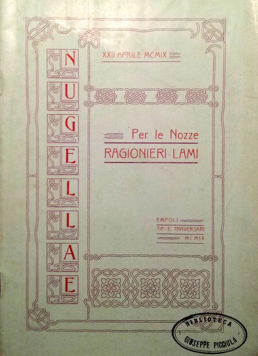 Empoli Nella Cerchia Antica – Di Emilio Mancini, 1909