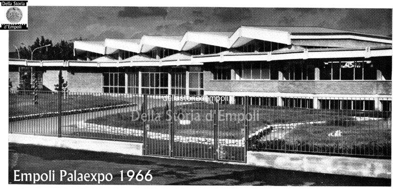 Empoli, Inaugurazione Palaexpo 1966