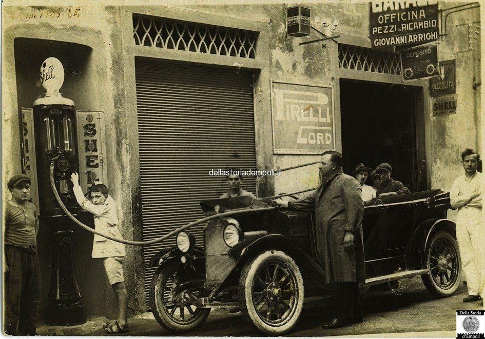 Empoli, Un Vecchio Distributore Di Carburante In Borgo, Di Giovanna Arrighi