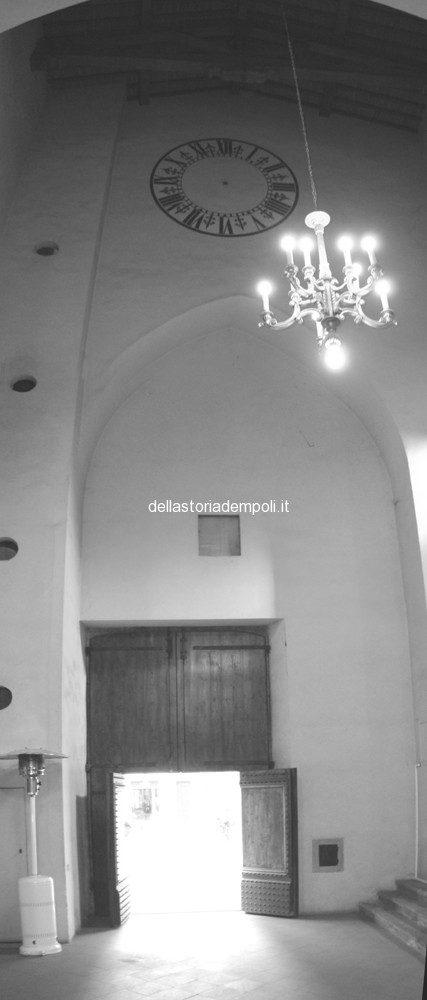 Empoli – S. Agostino Transetto Interno Orologio