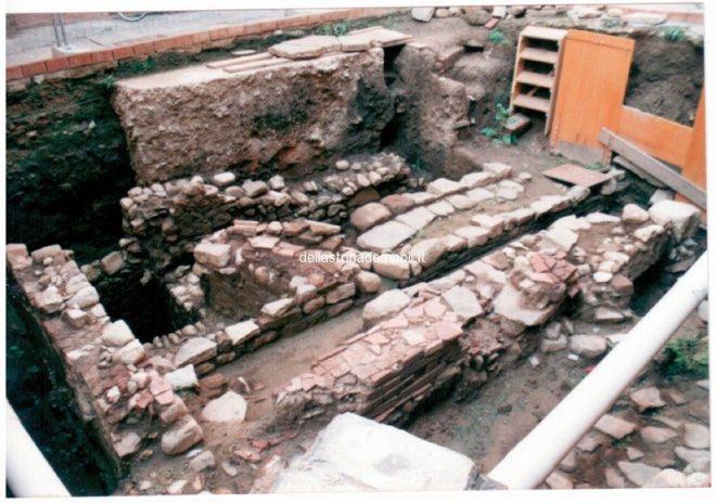 Empoli – Scavi Piazzetta Propositura 1999 9
