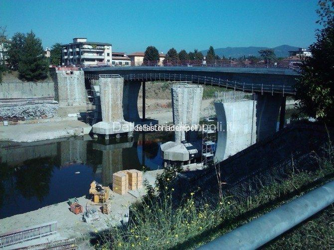 Il Cantiere Del Nuovo Ponte Ad Empoli/Spicchio…