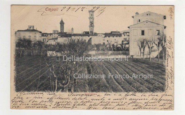 Dalla collezione di Franco Arrighi... Empoli nel 1899