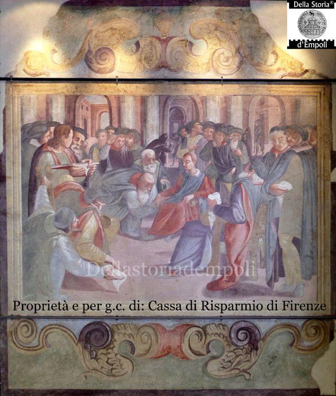 Gli Affreschi Di Palazzo Ghibellino: Il Baciamano