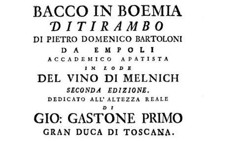 Bacco in Boemia