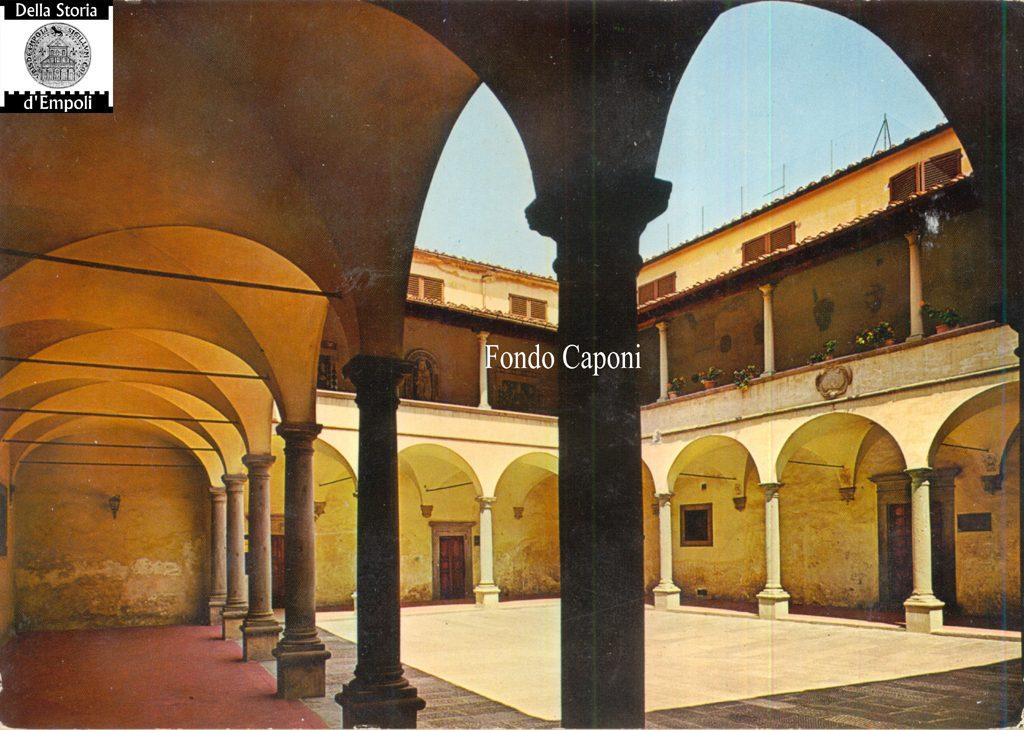 Fondo Pietro Caponi: Empoli Volume II, Pag. 42: Chiostro E Stazione