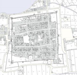 Catasto 1820: Castello di Empoli
