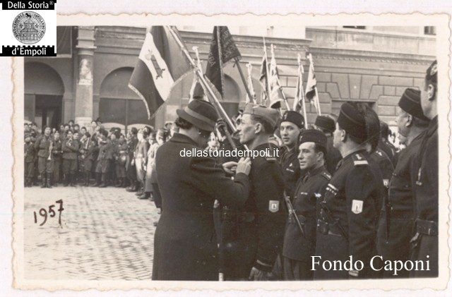 Fondo Caponi Empoli, Vol 2 Pagina 7: Balilla E Camicie Nera In Piazza Del Littorio E Allo Stadio