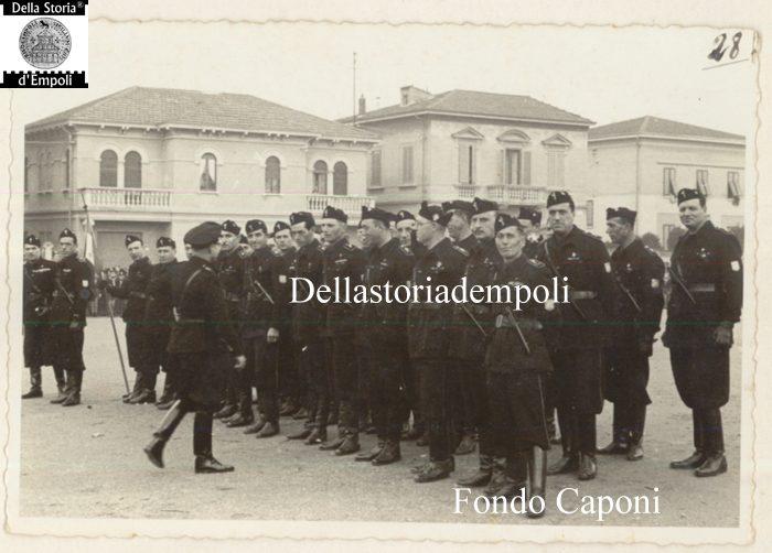 Empoli – Camicie nere in Piazza XXVIII Ottobre oggi Piazza Gramsci