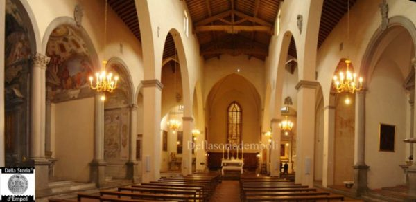 Interno della  Chiesa di Sant'Agostino