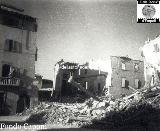 Fondo Caponi Empoli, Vol 2 Pagina 22: Case E Piazze Danneggiate Dalla Guerra