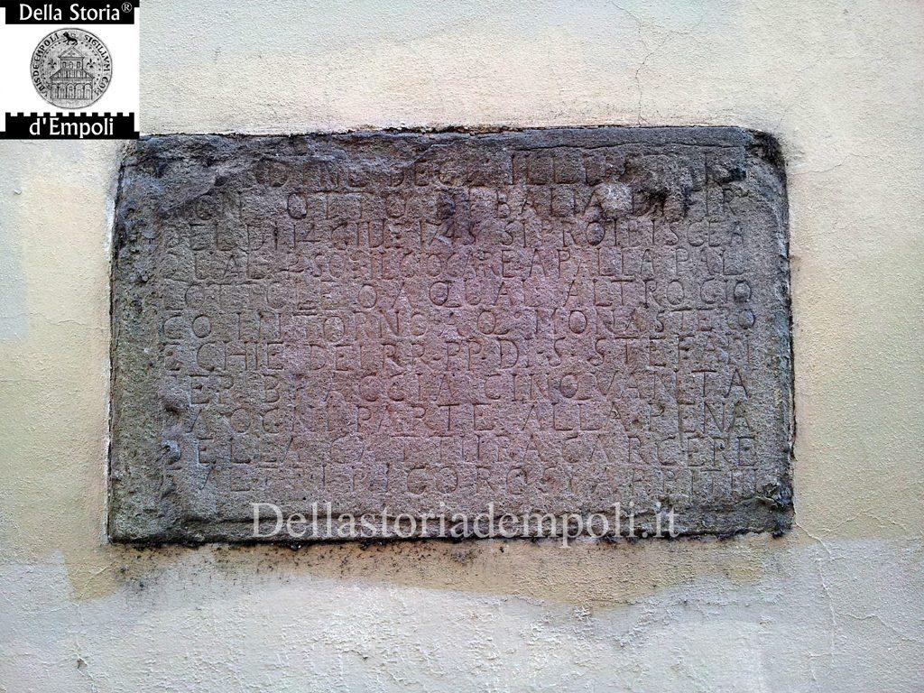 Empoli E L'iscrizione Sulle Pallottole In Via De' Neri – Di Carlo Pagliai