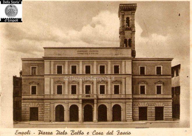 Cartolina, Piazza Italo Balbo