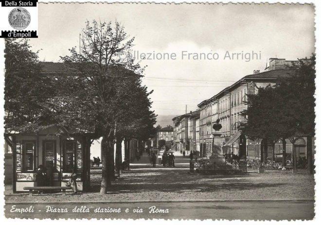 Empoli - Piazza della Stazione e via Roma di Franco Arrighi