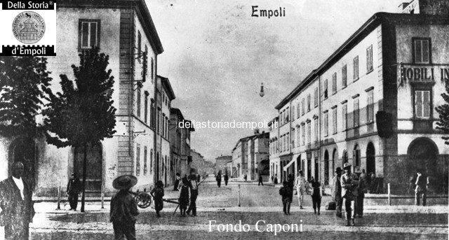 Empoli Piazza della Stazione e via Roma