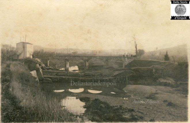 Empoli - Pozzale vecchio ponte sull'Orme sotto il Cotone