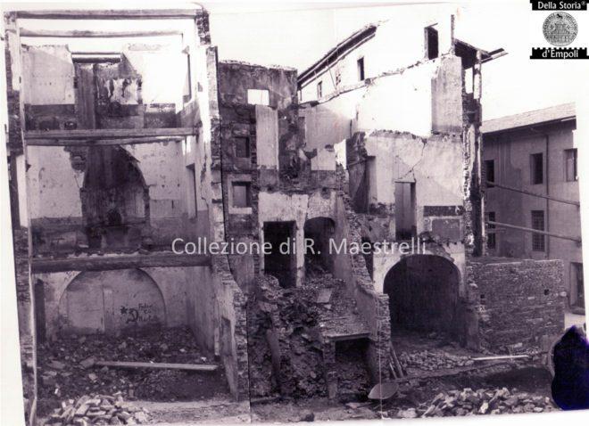 Empoli - Ricostruzione Via Marchetti incrocio Via Chiara 1949 da Roberta Maestrelli 1