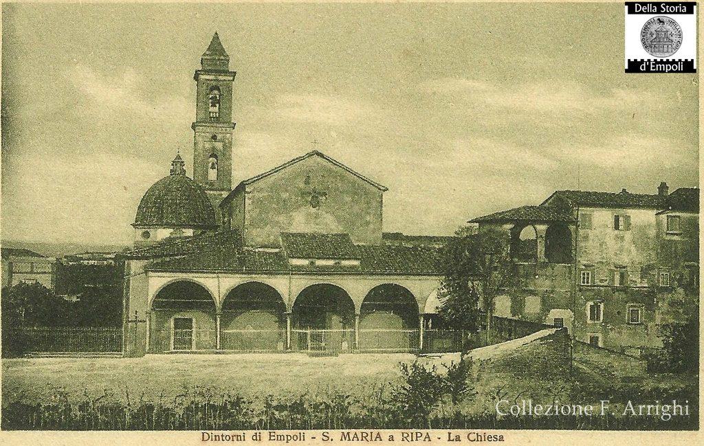 Chiesa Di Santa Maria A Ripa, Dalla Collezione Di F. Arrighi