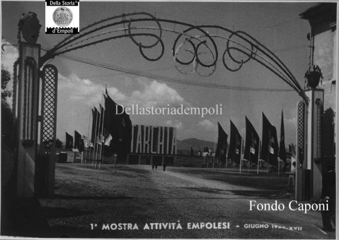 Stadio Martelli con la scritta Autarchia