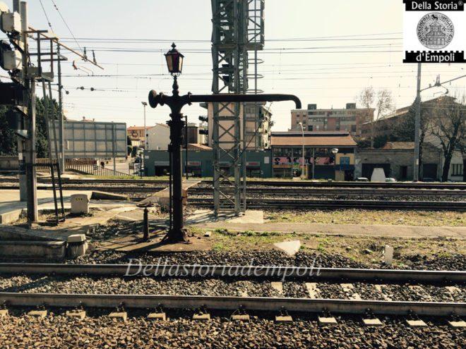 Empoli - Stazione ferroviaria pompa acqua locomotive 12-03-2015