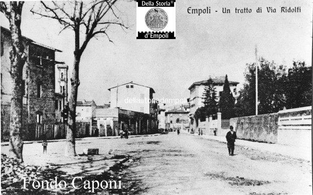 Empoli Via Ridolfi pressi incrocio Via Verdi