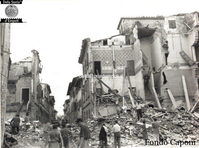 Fondo Caponi Empoli, Vol 2 Pagina 21: Case E Strade Danneggiate Dalla Guerra