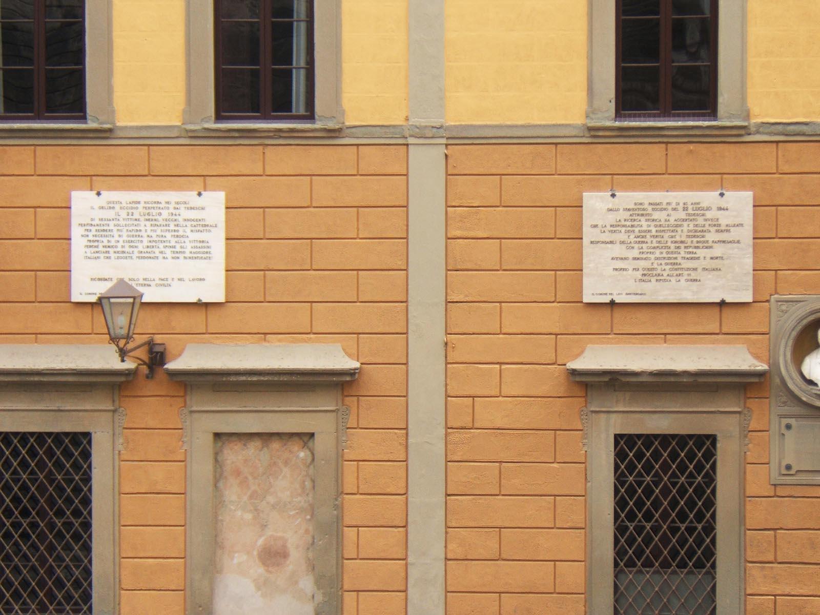 [G. Chelli] La Strage Del Duomo Di San Miniato: Continua L'arrampicata Sugli Specchi?