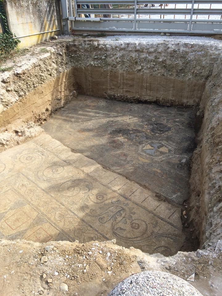 Limite Mosaico Villa Romana