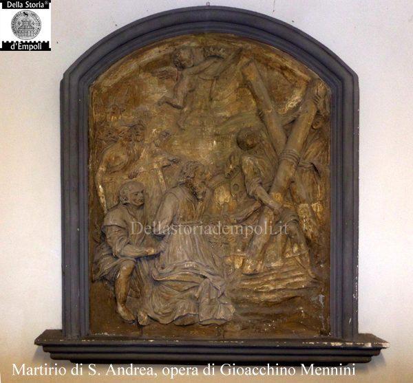 Bassorilievo Del Martirio Di Sant'Andrea Sulla Collegiata, Opera Di Giovacchino Mennini