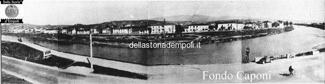 Panoramica dell'Arno all'altezza dei macelli
