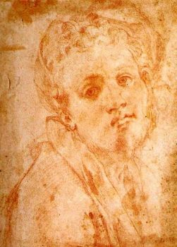 Pontormo - Studio per Autoritratto Cappella Capponi