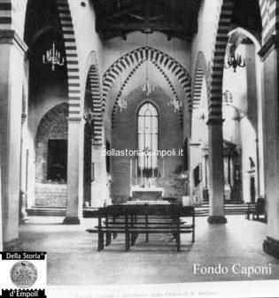 S. Agostino navata centrale