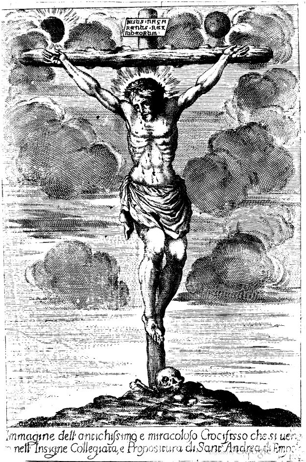 Il Santissimo Crocifisso Spirante Della Insigne Collegiata Di Sant'Andrea Di Empoli