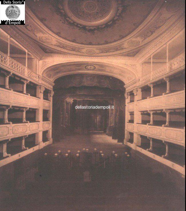 Tesi Sull'ex Teatro Salvini Ad Empoli – Di Carlo Carraresi: