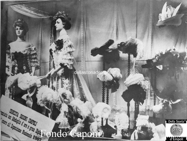 Vetrina del negozio Ernesta Busoni