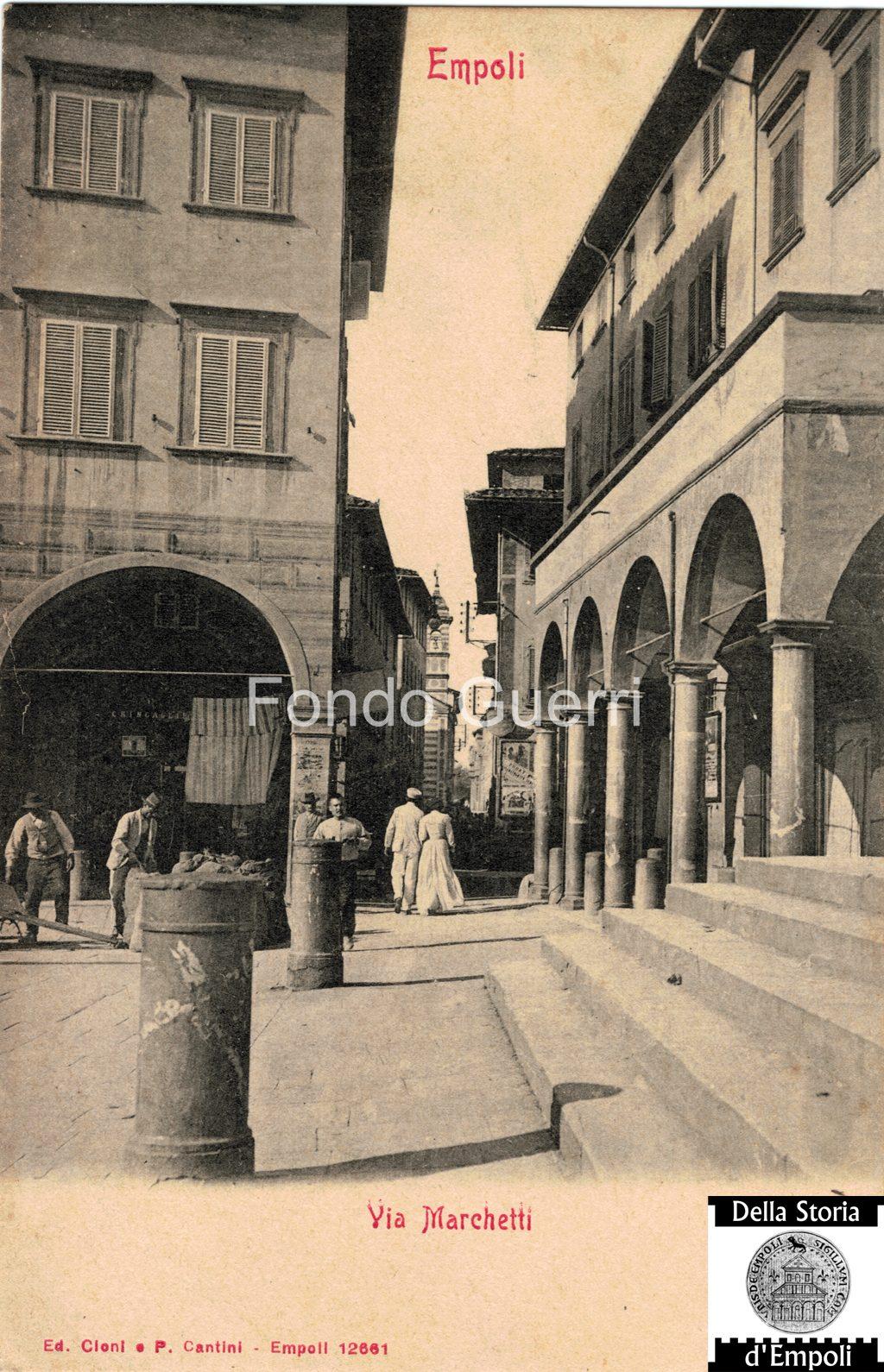 Via Marchetti E Piazza Dei Leoni