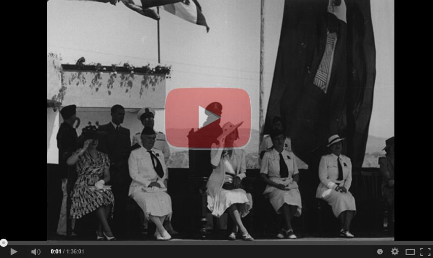 Empoli Luglio 1939: Filmato Della Visita Di Maria Josè Alla Mostra Delle Attività