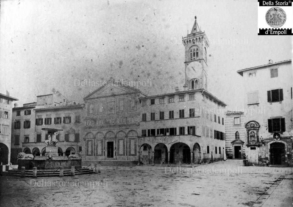 Empoli Piazza Dei Leoni E Collegiata